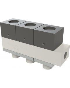 Automatik-Ventil, 3 Steuerköpfe, PTFE 107