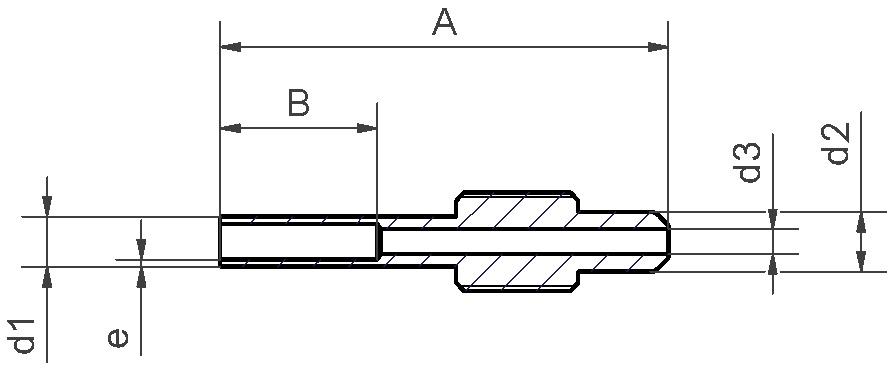 Übergang orbital - Flartek