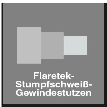 Flaretek Stumpfschweiß Gewindestutzen