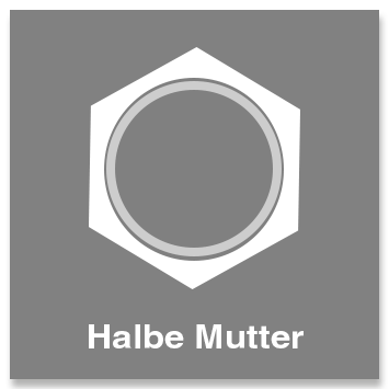 Halbe Mutter