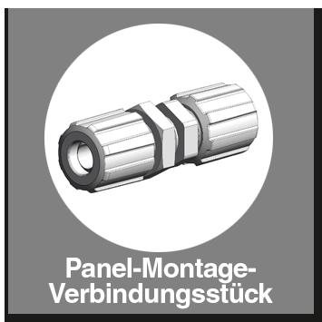 Panel-Montage-Verbind.-Stück mit Flareanschluss