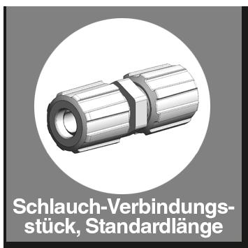 Schlauch-Verbindungsstück, Standardlänge