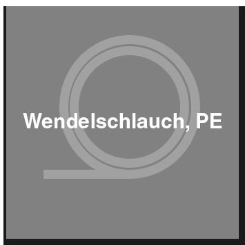 Wendelschlauch, PE