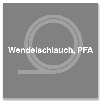 Wendelschlauch, PFA