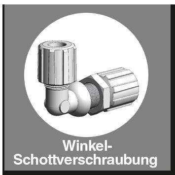 Winkel-Schottverschraubung