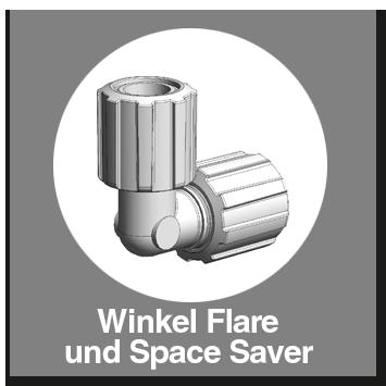 Winkel PFA Flare und Space Saver